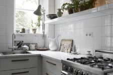 12 simple kitchen decor with tile walls and countertops