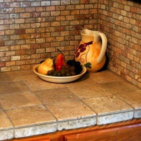 ... Ceramic Tile Countertop; Kitchen Tile Countertops : Hot D Cor Trend Tile  Kitchen Countertops Digsdigs ...