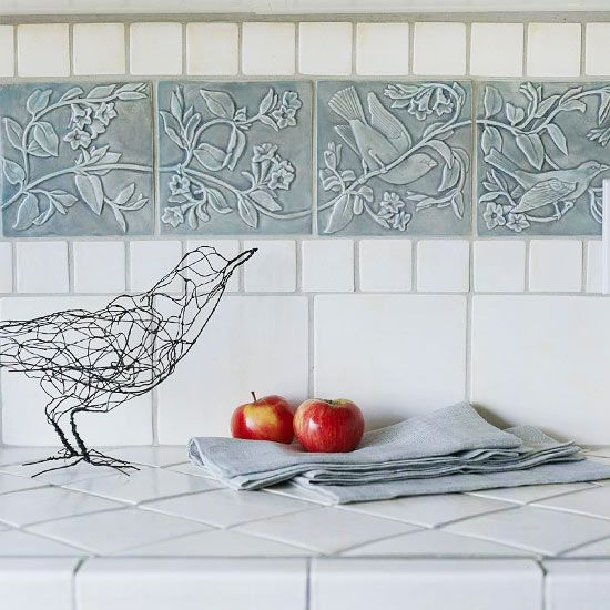 Kitchen Backsplash Same As Countertop: Hot Décor Trend: 24 Tile Kitchen Countertops