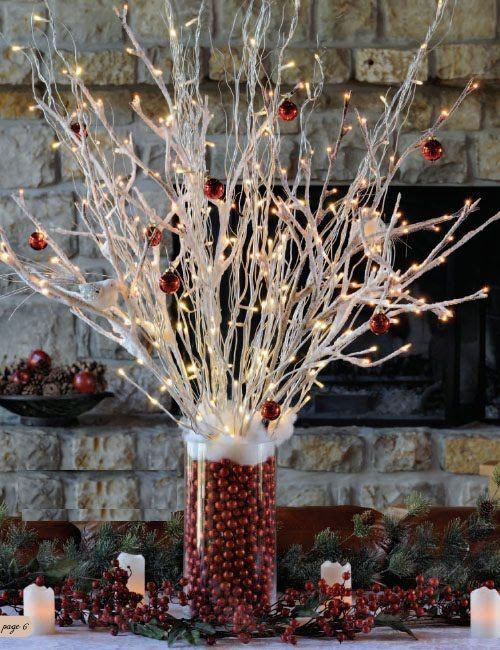 Unusual string light décor ideas for winter holidays