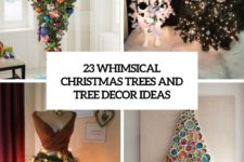 23 whimsical christmas trees and tree decor ideas cover