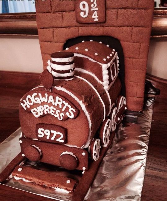 Harry Potter Hogwarts Express ginger bread