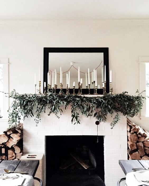 41 chic modern christmas d cor ideas digsdigs for Modern home decor big lots