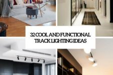 32 cool and functional track lighting ideas cover
