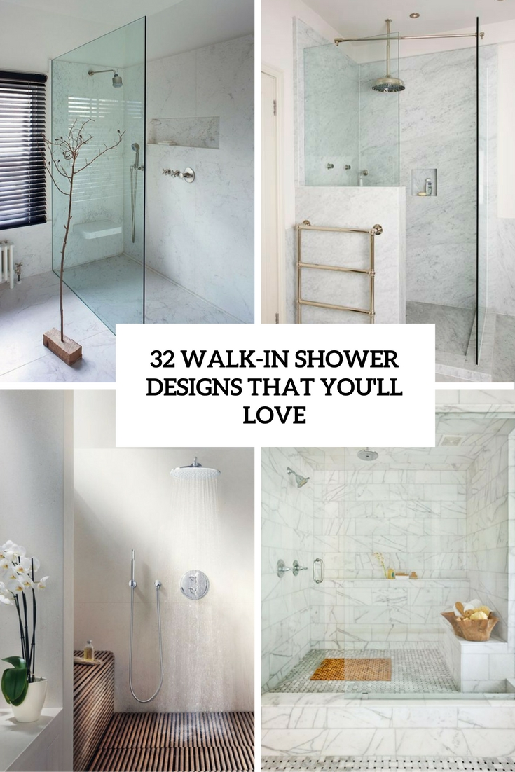 32 Walk In Shower Designs That You Will Love
