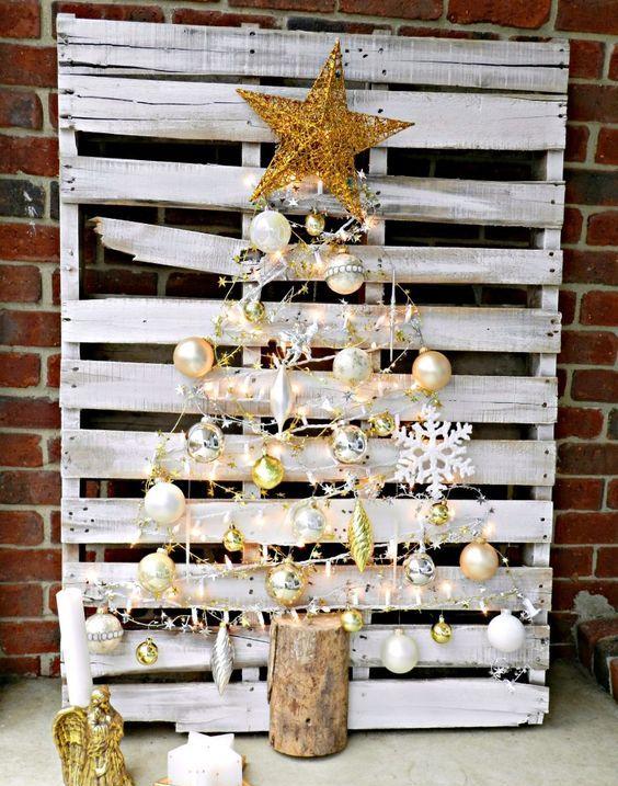 white reclaimed tree