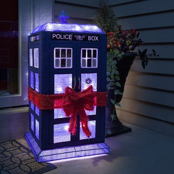 Doctor Who 3D Light Tardis lwan decoration