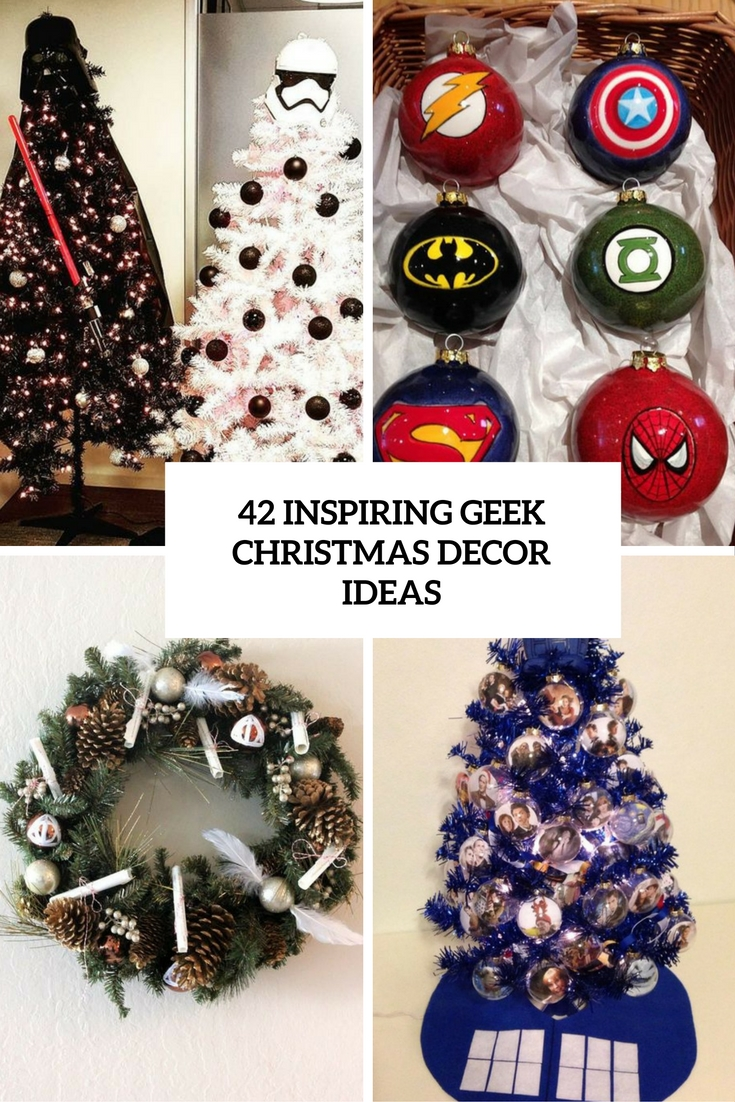 42 Inspiring Geek Christmas Décor Ideas