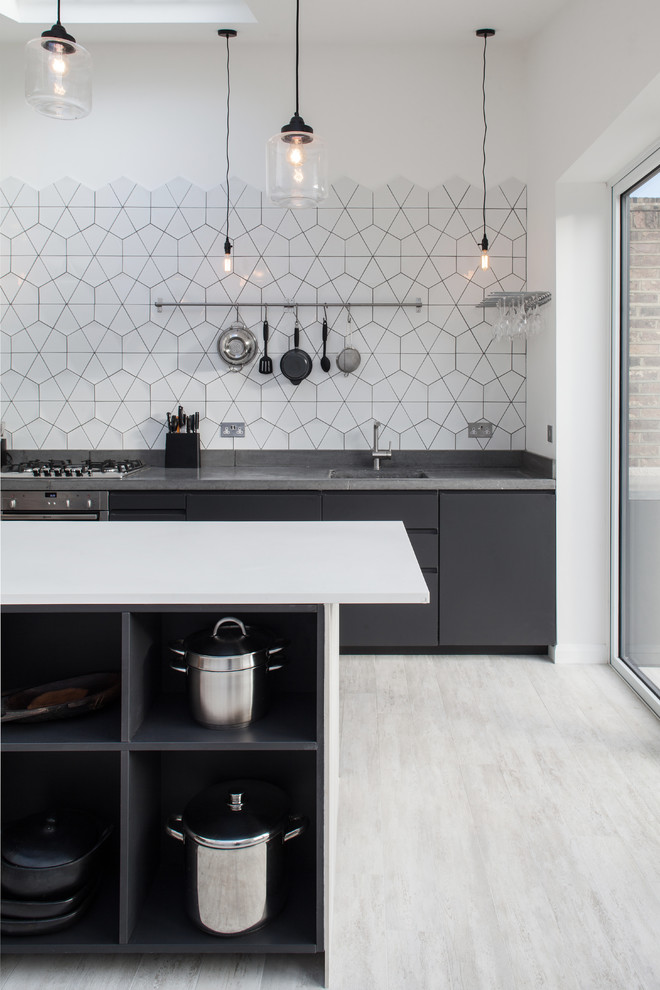 hexagon tiles could be used to create interesting geometric patterns (Trevor Brown Architect)