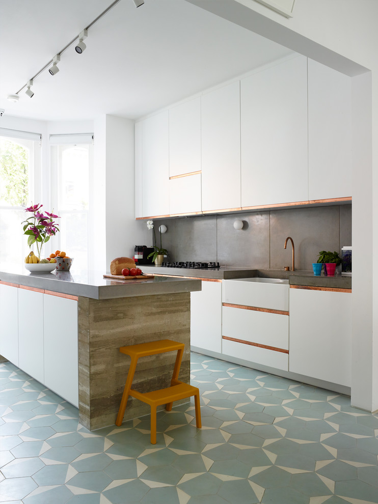 hexagon tile kitchen ideas