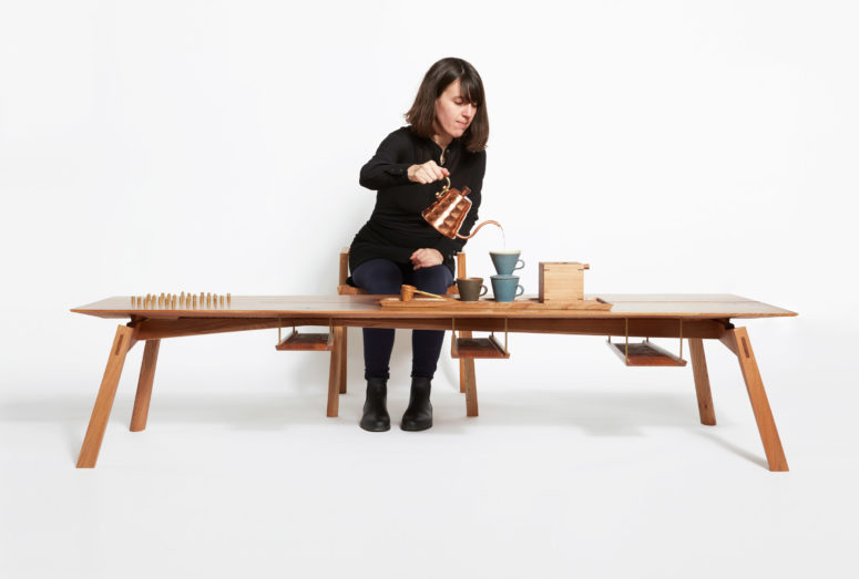 Coffee Ceremony Furniture Collection Inspired By Japanese Traditions