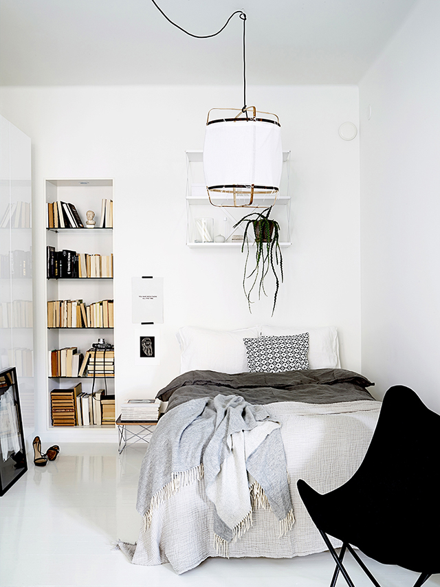 White Apartment breezy all-white apartment decorated with an impeccable taste