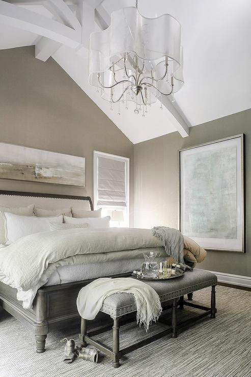 30 timeless taupe home d cor ideas digsdigs for Blue and taupe bedroom ideas
