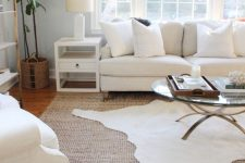 05 rug layering is a great idea for any room, pick two different colors and textures