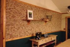 06 a wine cork wall can be installed by you anywhere you want and it won't cost a pretty penny