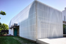 07 The white slats offer structural clarity and reference the architecture of the neighbourhood for visual cohesion