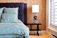 07 accent cork wall looks attractive as a wooden one but is more affordable