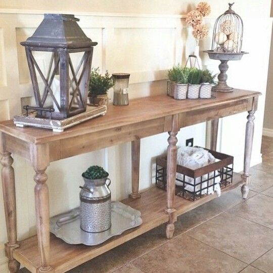 34 stylish console tables for your entryway digsdigs. Black Bedroom Furniture Sets. Home Design Ideas