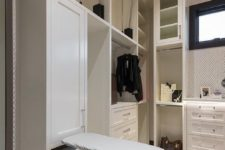 09 small drop down ironing board is a perfect solution for many closets