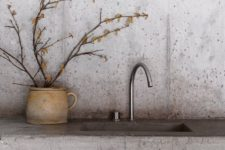 11 concrete countertop and a sink in one are ideal for modern kitchens