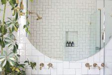 12 greenery will refresh any bathroom and make it look like a spa