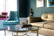 14 gold metallic coffee table add a glam touch to the decor