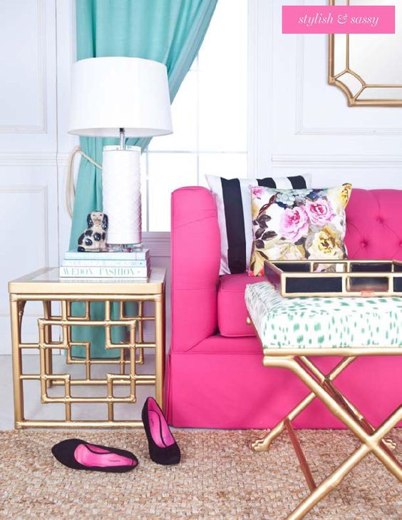 30 Pin-Worthy Fuchsia Home Décor Ideas - DigsDigs