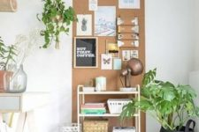 16 make a cork pinboard for your home office