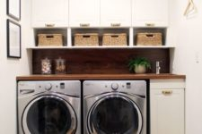 small laundry design