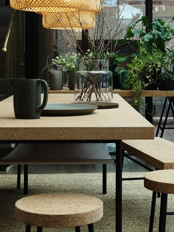 Sinnerlig collection by IKEA is amazing for dining spaces of any kind