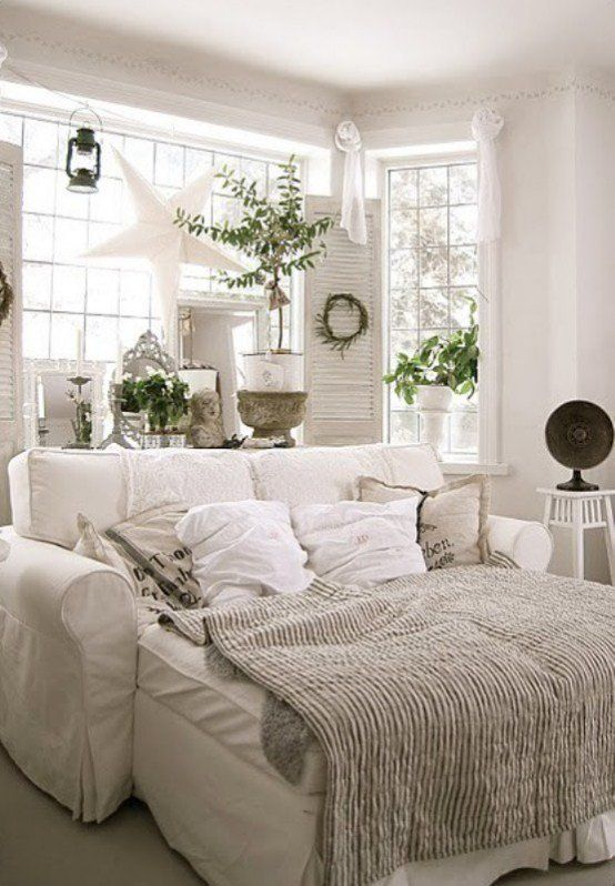 cozy warm neutral decor is ideal for winter