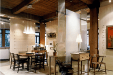 25 beams of various kinds can be also used for dividing the space visually