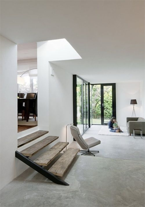 cover entryway floors with concrete as it's very long-lasting