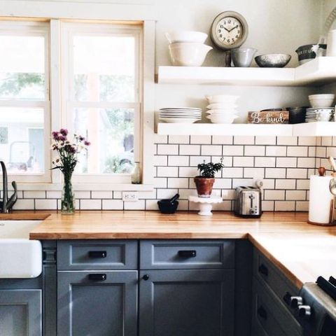 Can You Stain Butcher Block Countertops : Rustic Countertops That Add  Coziness To Your Home