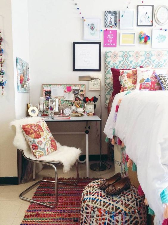 Dorm Room Styles: 31 Cool Dorm Room Décor Ideas You'll Like