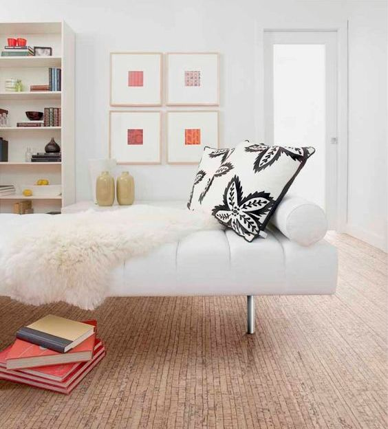 cork floors are warm underfoot and retains its splendour longer than traditional hardwood