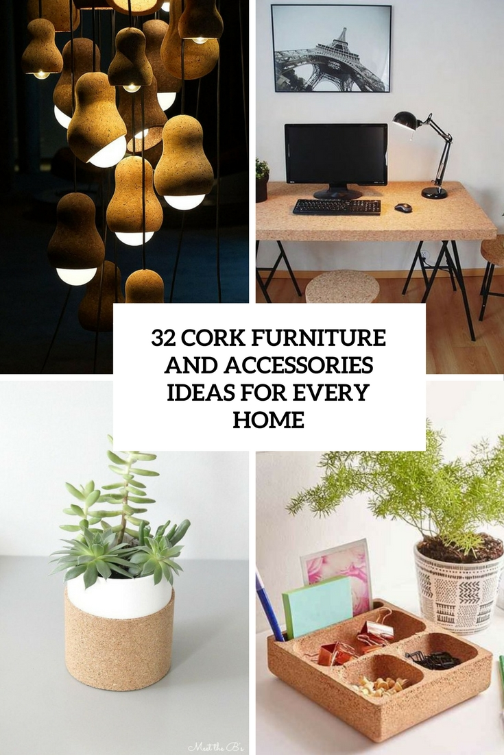 cork furniture and accessories ideas for every home cover