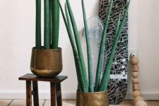 33 stylish copper planters of one look will keep the style