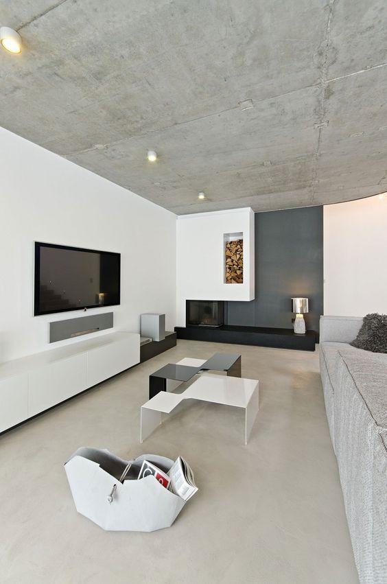 Concrete In Interior Design 36 modern and chic concrete home décor ideas - digsdigs