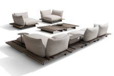 01 Aspara is a modular seating system that can adapt to various needs and requirements changing according to your wish