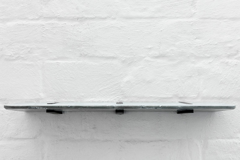 Clip-On Marble Shelf Combining Traditional Craft And Modern Design