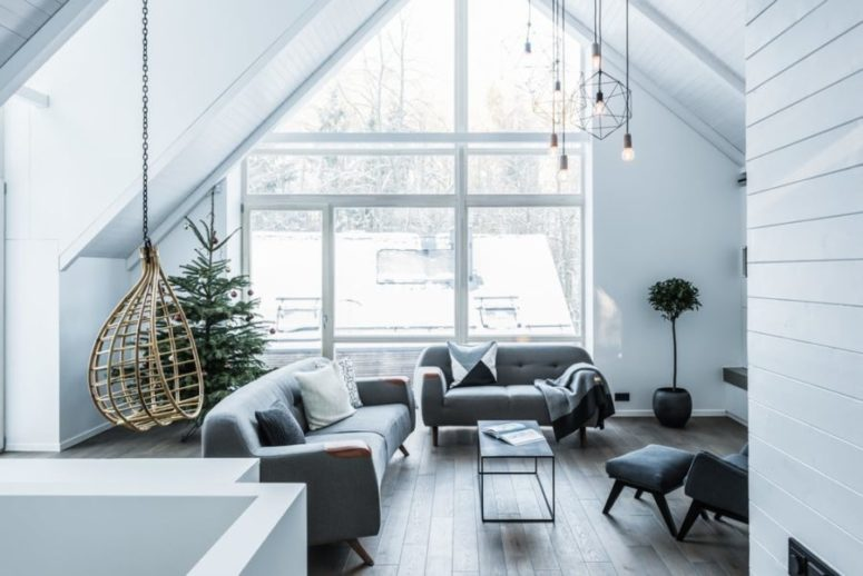 This Cool House In The Lithuanian Forest Will Impress You With Super  Stylish Modern Interiors