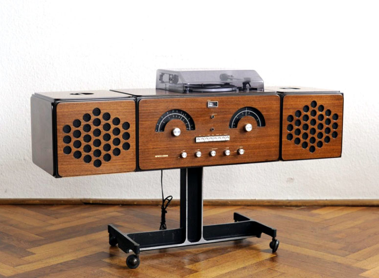 Brionvega Musical Console Like Famous David Bowie's Piece