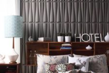 02 3 dimensional wall tiles made from bamboo pulp aren't only cool-looking but also eco-friendly ones