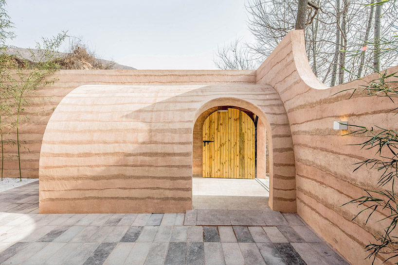 New vaulted forms provide for contemporary architectural features