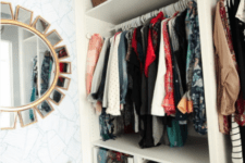 02 The closet was organized with the help of IKEA Pax system, which is very comfortable for any kind of storage