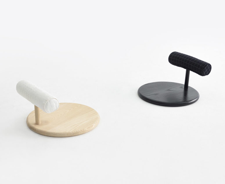 Wa is a pillow, a seat and a chair in one, and it's a great way to save some space