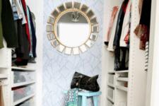 glam closet design