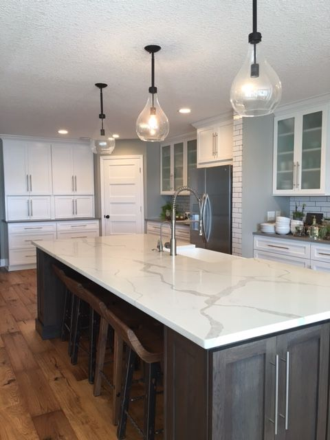 White Quartz Countertops : Quartz kitchen countertops ideas with pros and cons