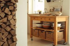 vintage kitchen island design